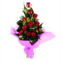 Букет «11 красных роз» с доставкой