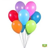 Купить 11 разноцветных шаров в интернет-магазине с доставкой