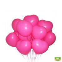Заказать 15 воздушных шаров «Сердце» в интернет магазине