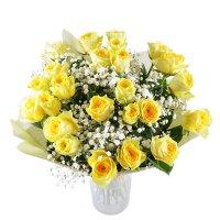 букет золотой, букет из желтых роз, букет желтый, букет из желтых цветов, букет розы гипсофила