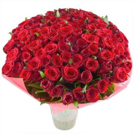Я буду любить тебя вечно (101 роза)