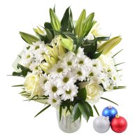 Белый вальс + новогодние шарики в подарок