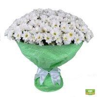 Купить «Большой букет хризантем» в интернет магазине цветов
