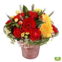 Заказать красивый букет цветов «Яркая поляна» с доставкой