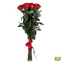 Шикарный букет из 15 роз высотой 1 метр с доставкой в любой город