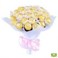 Вкуснейшие букеты из конфет - закажите с доставкой по СНГ!
