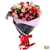 Заказать красивый букет роз с доставкой в любой город