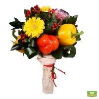 Заказать красивый букет «Овощной»  в интернет-магазине с доставкой