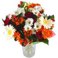 букет козерогу, букет по знаку зодиака, цветы козерогу