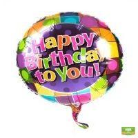 Заказать Гелиевый шар Happy Birthday онлайн