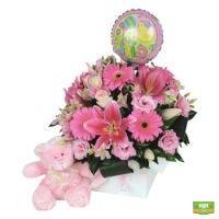 Купить нежный букет в розовых тонах в интернет-магазине с доставкой