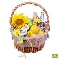 Купить фруктовую корзинку «Дары лета» с доставкой