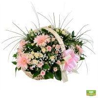 «Корзина на свадьбу», цветы в корзине, свадебная корзина