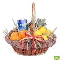 Купить фруктовую корзинку «Тропикана» с доставкой
