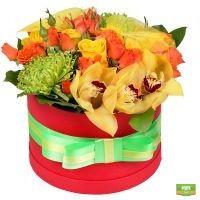 Заказать букет «Летнее солнце» в интернет-магазине Флора2000.ру с доставкой!