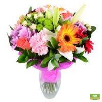 Заказать букет «Летний восторг» с доставкой, летний букет цветов