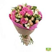 Букет «Мелодия роз» | купить онлайн