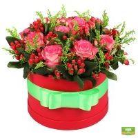 Заказать изящный букет «Миранда» в интернет-магазине Флора2000.ру. Доставка!