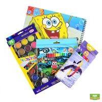 Детский набор для рисования (акварель, карандаши, фломастеры, альбом)