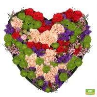 Заказать необычную композицию «Нежность сердца» в интернет-магазине с доставкой
