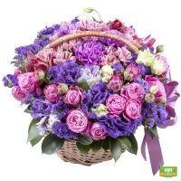 Заказать роскошную композицию «Брызги акварели» в интернет-магазине Флора2000.ру