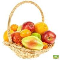 Купить фруктовую корзину в интернет-магазине Флора2000.ру. Доставка!