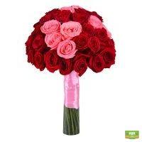 Оригинальный букет из роз «Изысканный комплимент» купить с доставкой