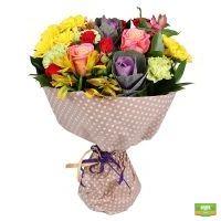 Купить букет ярких цветов с доставкой в любой город