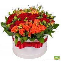 Заказать букет «Венецианский закат» в лучшем цветочном интернет-магазине flora2000.ru. Быстрая доставкой.