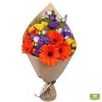 Купить букет «Полуденное солнце» в цветочном интернет-магазине UFL. Приятный сервис 24/7.