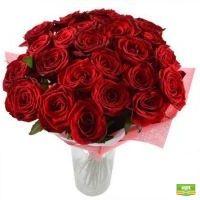 Огонь страсти 25 роз Николаев