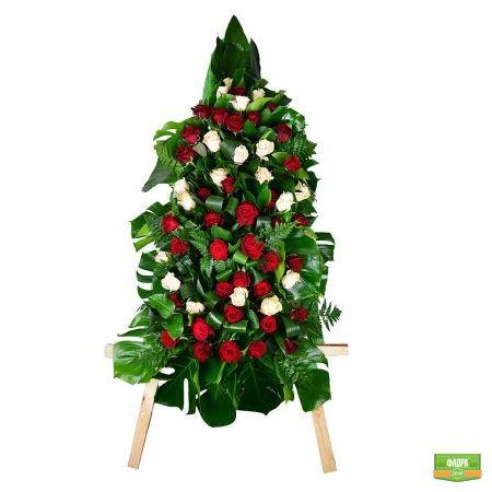 Похоронный венок 2