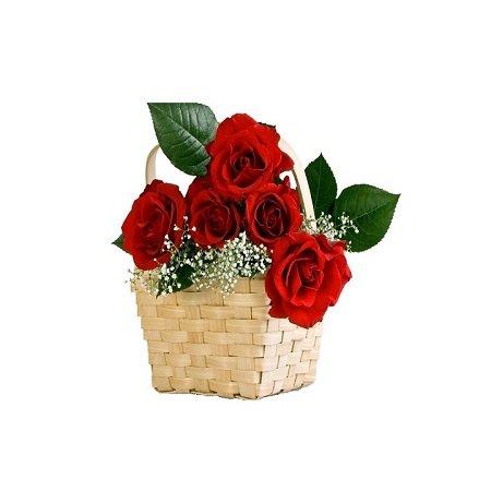 Поздравление цветами