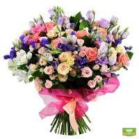 Заказ доставки цветов, приятный букет живых цвеов