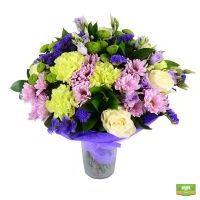 Букет «Пышный» - свежие цветы, бережная доставка доставка