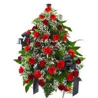 Ритуальная композиция из живых цветов № 2