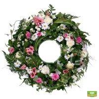 Ритуальный венок из цветов