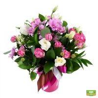 Букет роз и хризантем - продажа и доставка по всей России