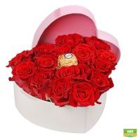 Сердце из роз Эль Торо