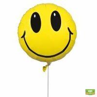Шарик фольгированный Smile