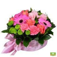Заказать букет цветов в виде торта с доставкой