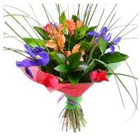 Весенний микс (9 цветков)