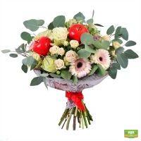 Купить красивый «Яблочный букет» в интернет магазине цветов