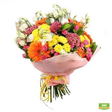 Яркий микс из 25 цветков
