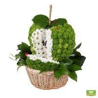 Купить композицию  «Зеленое яблоко» в интернет магазине цветов