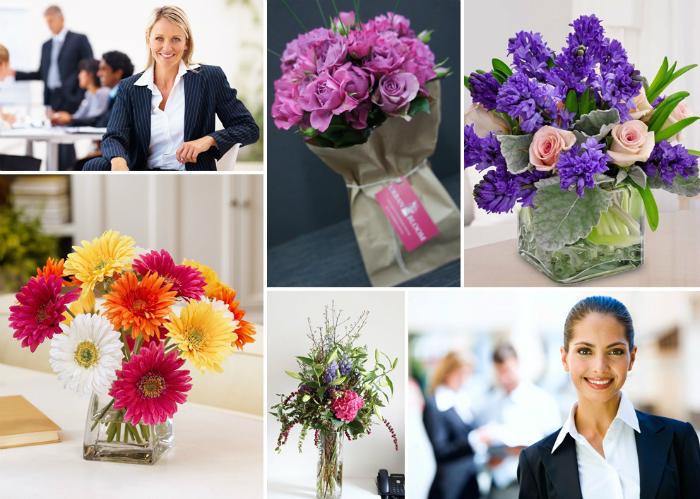 Букет для коллеги женщины, магазина цветов купить