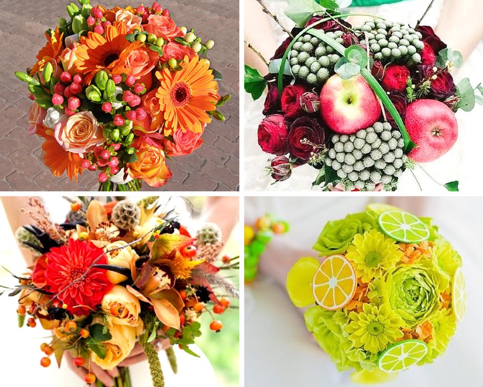 Букеты с фруктами и цветами фото как сделать 67