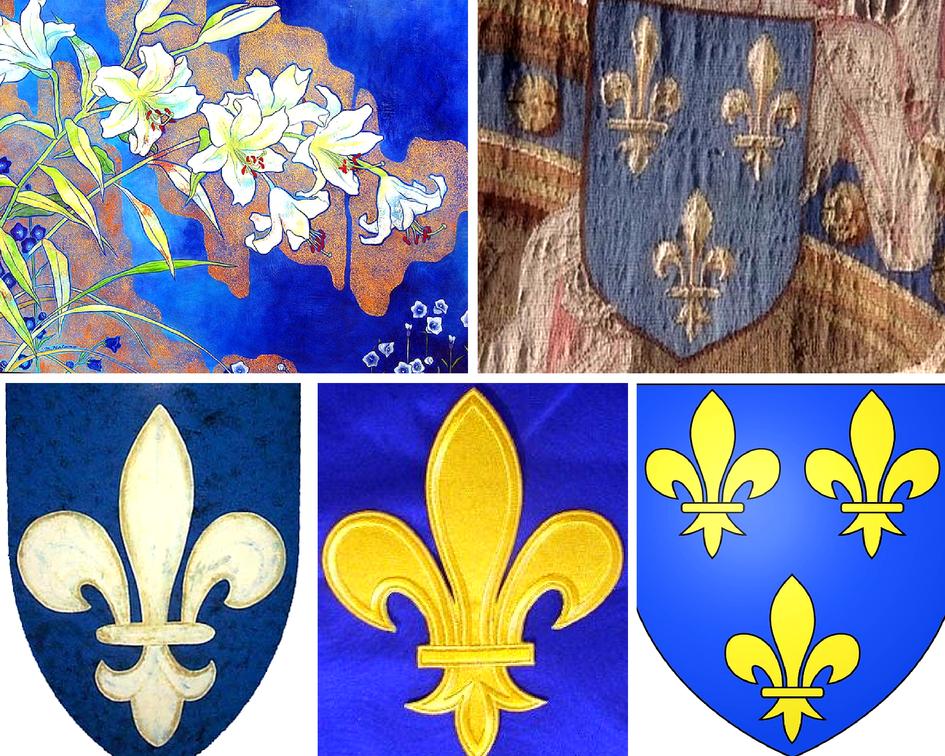 Цветочные традиции Франции - лилии