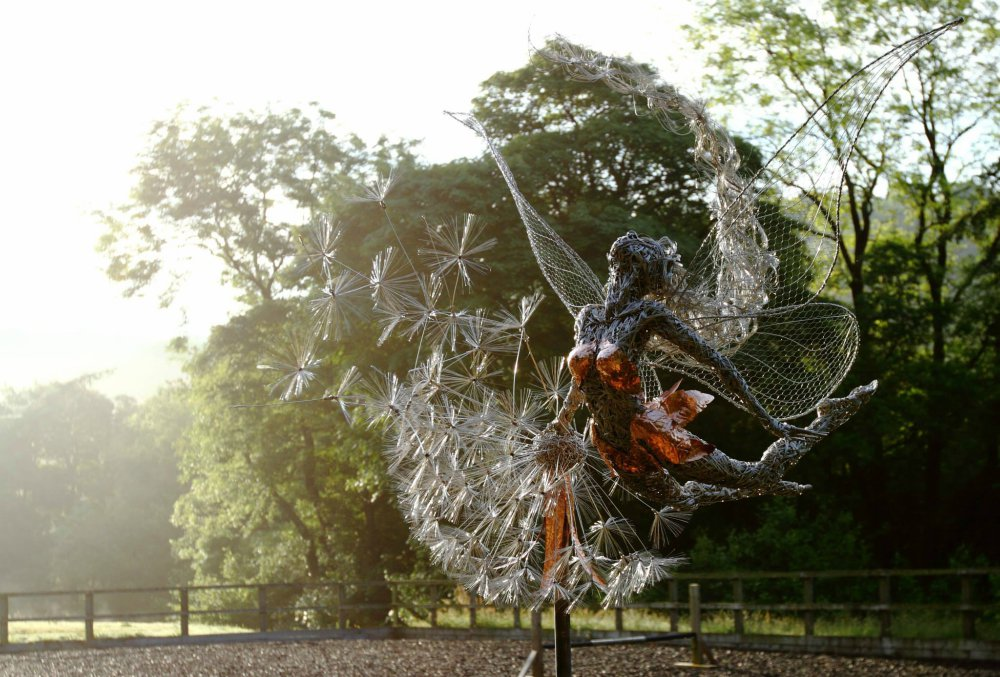Скульптуры Робина Уайта