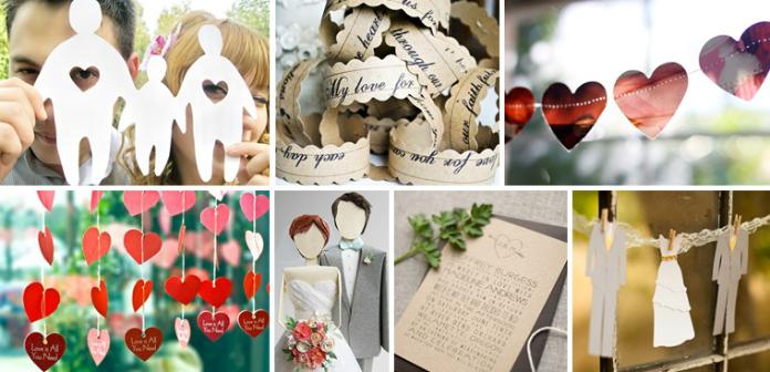 Бумажная свадьба: вторая годовщина свадьбы 32